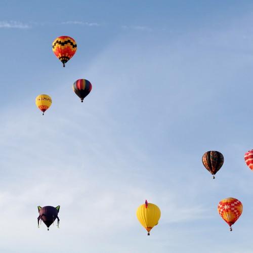 Vols en montgolfieres