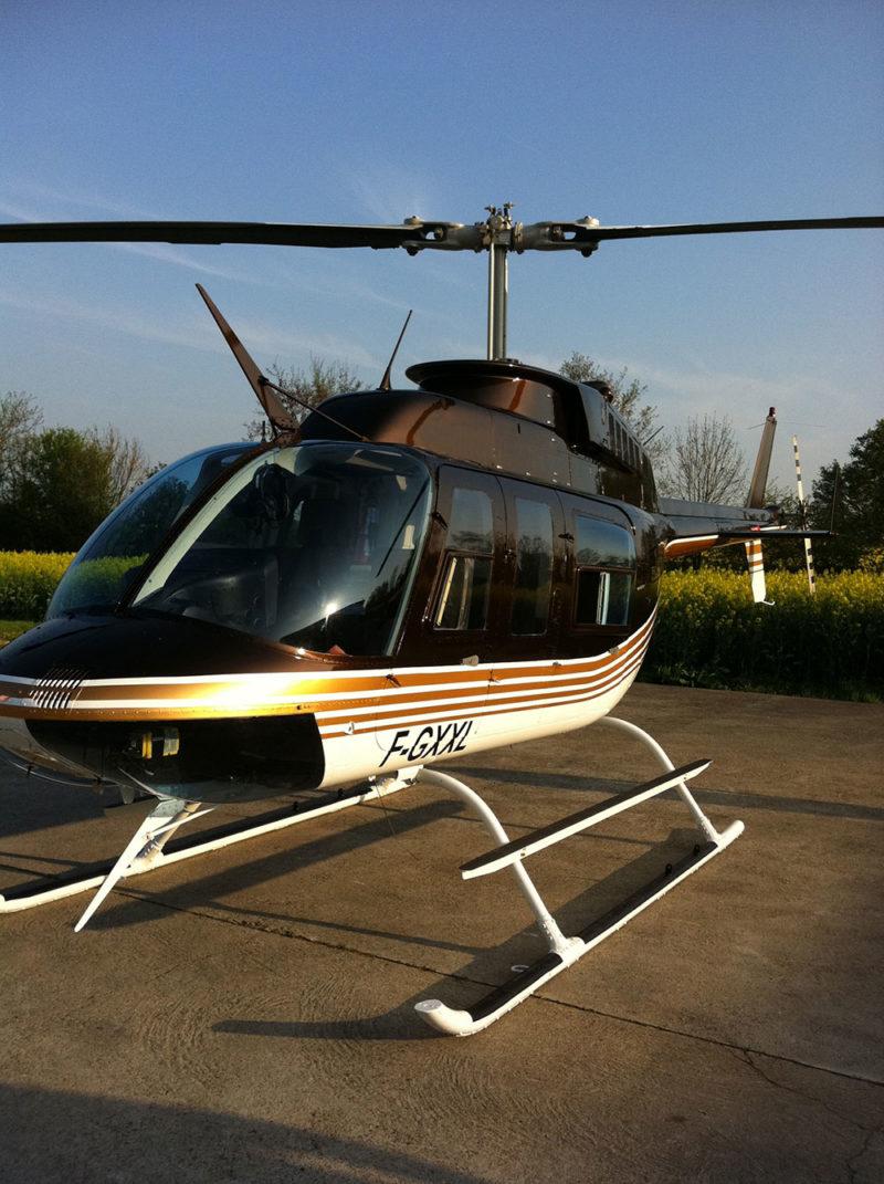 Les châteaux de la Loire en hélicoptère